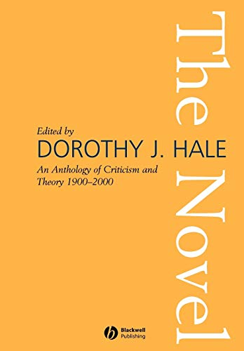 9781405107747: The Novel: An Anthology of Criticism and Theory 1900-2000