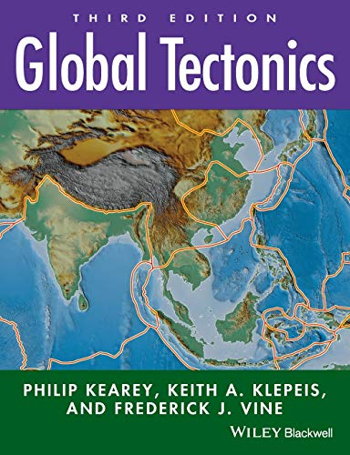 Resultado de imagen para The third edition of this widely acclaimed textbook provides a comprehensive introduction to all aspects of global tectonics. Revisions to this new edition reflect the most significant recent advances in the field, providing a thorough, accessible, and up-to-date text. Combining a historical approach with process science, Global Tectonics provides a careful balance between geological and geophysical material in both continental and oceanic regimes.