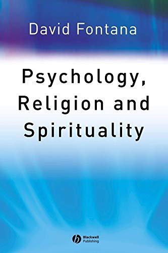 9781405108058: Psychology, Religion and Spirituality