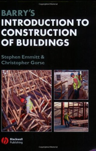 9781405110556: Barry's Introduction to Construction of Buildings