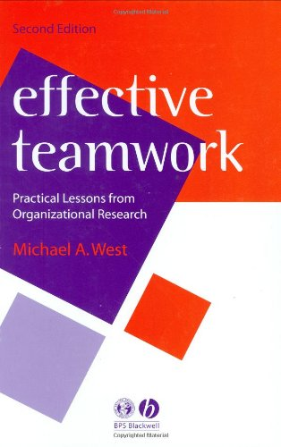 9781405110587: Effective Teamwork: Practical Lessons from Organizational Research (Psychology of Work and Organizations)