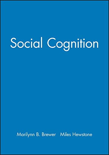 Social Cognition (Perspectives on Social Psychology): Brewer, M.B.