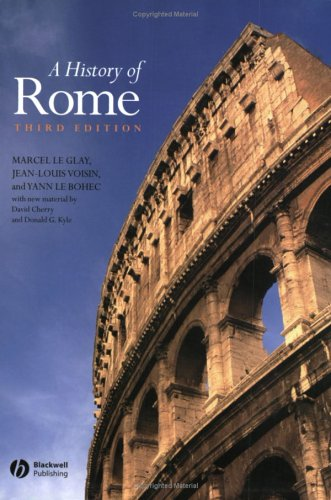 9781405110839: A History of Rome