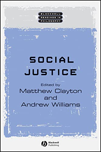 9781405111096: Social Justice (Wiley Blackwell Readings in Philosophy)