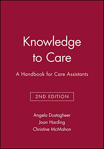 9781405111119: Knowledge to Care: A Handbook for Care Assistants