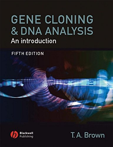 9781405111218: Gene Cloning and DNA Analysis: An Introduction (Brown,Gene Cloning and DNA Analysis)