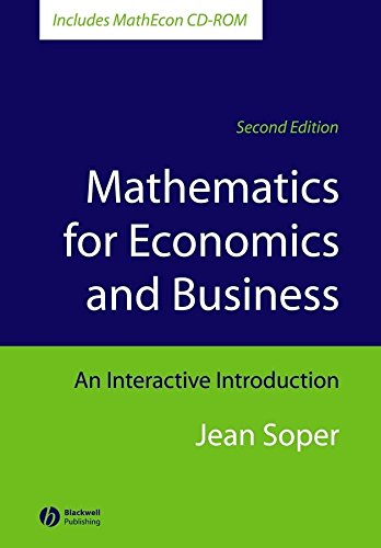9781405111270: Mathematics for Economics and Business: An Interactive Introduction