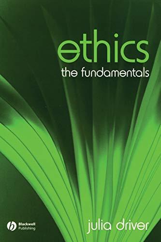 9781405111546: Ethics: The Fundamentals