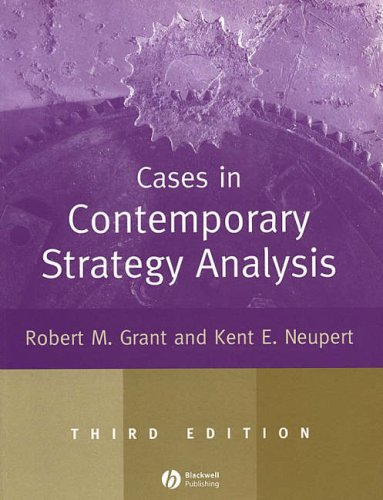 9781405111805: Cases in Contemporary Strategy Analysis