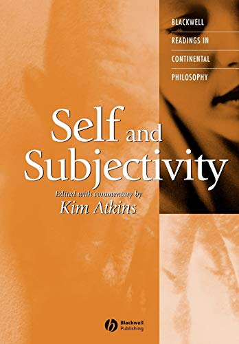 9781405112048: Self and Subjectivity (Blackwell Readings in Continental Philosophy, Vol. 8)