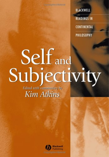 9781405112055: Self and Subjectivity (Blackwell Readings in Continental Philosophy)