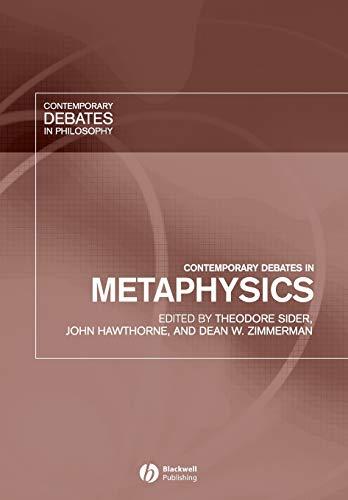 9781405112291: Contemporary Debates in Metaphysics