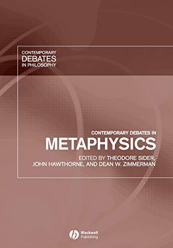 9781405112291: Contemporary Debates in Metaphysics (Contemporary Debates in Philosophy)
