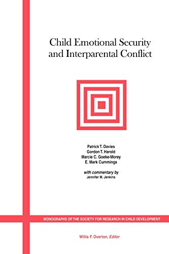9781405112345: Child Emotional Security and Interparental Conflict