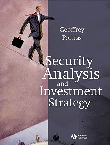 9781405112482: Security Analysis and Investment Strategy