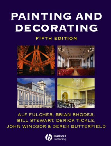 Painting and Decorating: An Information Manual: Fulcher, Alf, Rhodes,