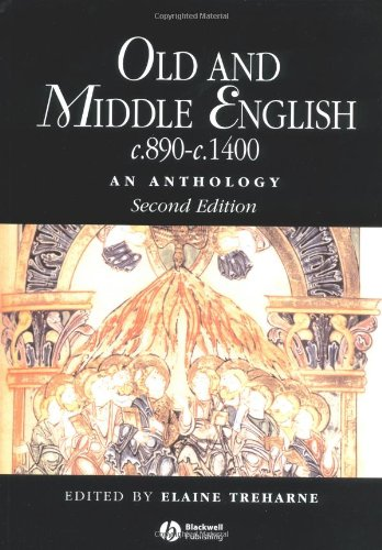 9781405113137: Old and Middle English c.890-c.1400: An Anthology (Blackwell Anthologies)