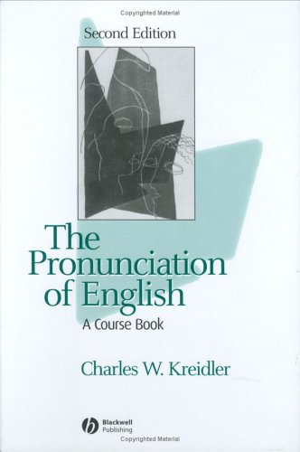 9781405113359: The Pronunciation of English: A Course Book
