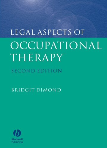 9781405113434: Legal Aspects of Occupational Therapy