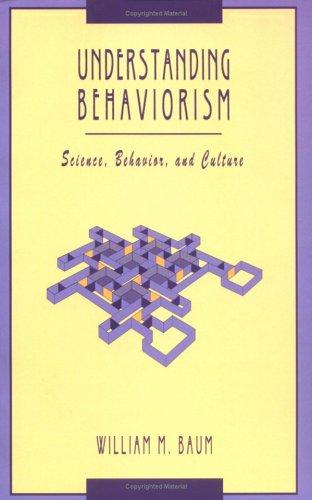 9781405113502: Understanding Behaviorism