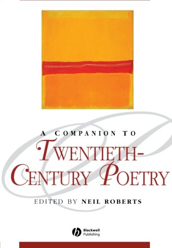 9781405113618: A Companion to 20th-Century Poetry