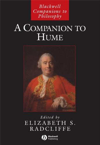 9781405114554: A Companion to Hume (Blackwell Companions to Philosophy)