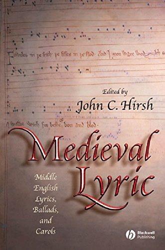 9781405114820: Medieval Lyric: Middle English Lyrics, Ballads, and Carols