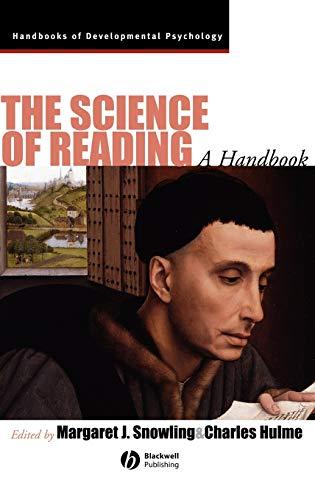9781405114882: The Science of Reading: A Handbook (Wiley Blackwell Handbooks of Developmental Psychology)
