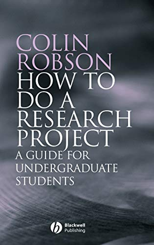 9781405114899: How to do a Research Project: A Guide for Undergraduate Students