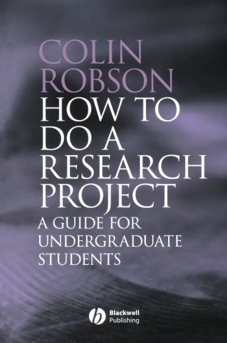 9781405114905: How to do a Research Project: A Guide for Undergraduate Students