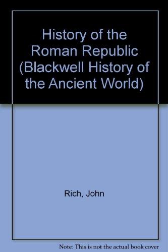 9781405115049: History of the Roman Republic
