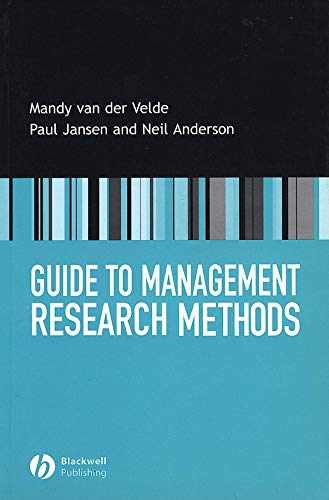 9781405115124: Guide to Management Research Methods