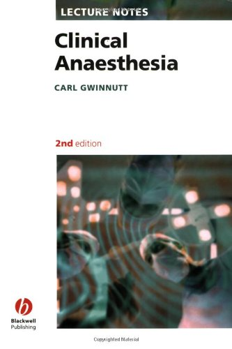 9781405115520: Clinical Anaesthesia (Lecture Notes)