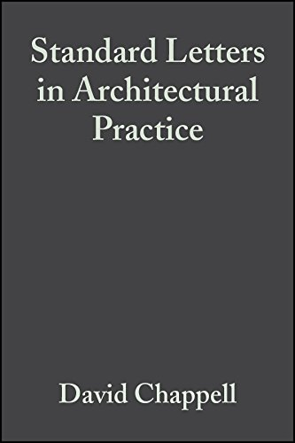 9781405115568: Standard Letters in Architectural Practice, with CD