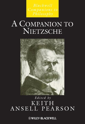 9781405116220: A Companion to Nietzsche (Blackwell Companions to Philosophy, Vol. 33)