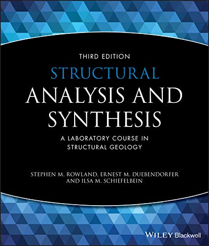9781405116527: Structural Analysis and Synthesis: A Laboratory Course in Structural Geology