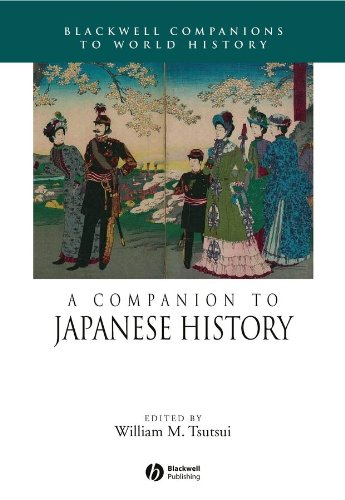 9781405116909: A Companion to Japanese History (Wiley Blackwell Companions to World History)