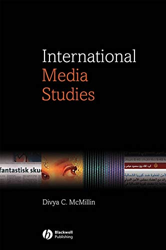 9781405118095: International Media Studies