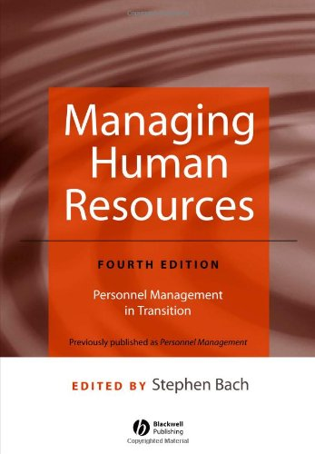9781405118514: Managing Human Resources: Personnel Management in Transition