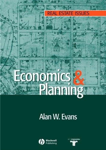 9781405118613: Economics and Land Use Planning