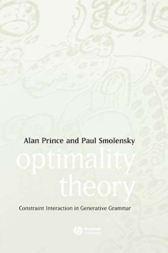 9781405119320: Optimality Theory: Constraint Interaction in Generative Grammar
