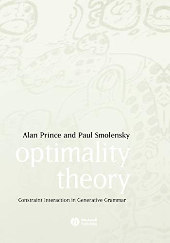 9781405119337: Optimality Theory: Constraint Interaction in Generative Grammar
