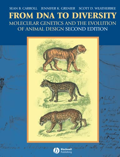 9781405119504: From DNA to Diversity: Molecular Genetics and the Evolution of Animal Design