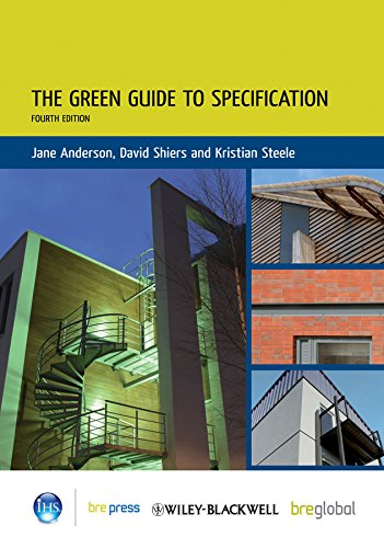 9781405119610: The Green Guide to Specification