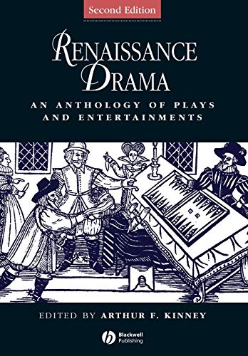 9781405119672: Renaissance Drama: An Anthology of Plays and Entertainments
