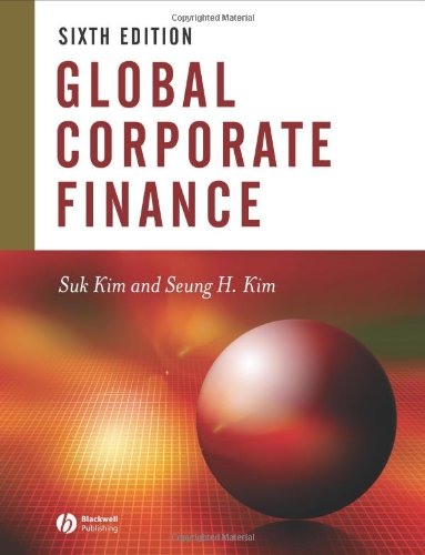 9781405119900: Global Corporate Finance: Text and Cases