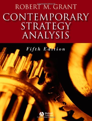 9781405119993: Contemporary Strategy Analysis: Concepts, Techniques, Applications (5th Edition)
