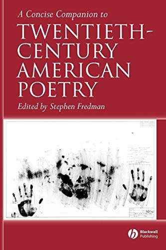 9781405120036: A Concise Companion to Twentieth-Century American Poetry