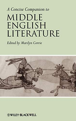 9781405120043: A Concise Companion to Middle English Literature (Concise Companions to Literature and Culture)