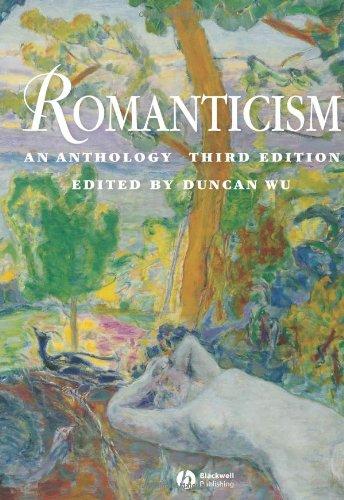 9781405120852: Romanticism: An Anthology (Blackwell Anthologies)